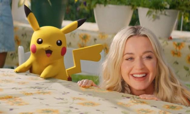 Katy Perry dévoile le clip d'Electric, son nouveau titre en collaboration avec Pokémon