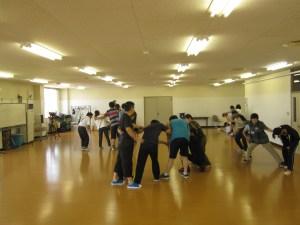 市内障害者福祉施設を稽古場として練習を重ねる