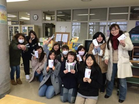 1月11日に記念品贈呈式が行われました。みなさん、おめでとうございます。