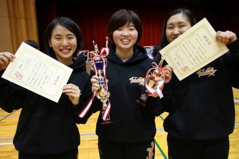 3名が北海道代表に選ばれました