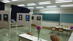 6月の大学祭展示