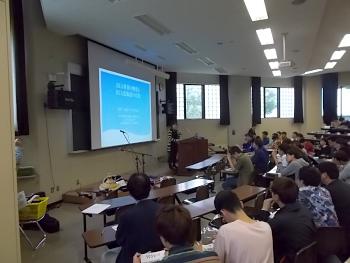 JICA北海道の野吾様からODAについて説明を受けました