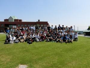6 上川農業試験場前庭ローンでの全体写真