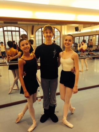 Tala at Prague International Ballet Masterclasses with Vadim