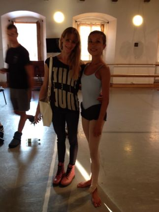 Tala at Prague International Ballet Masterclasses with Alicia