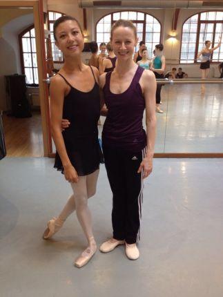 Tala at Prague International Ballet Masterclasses with Nadja