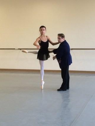 Ballet class - Tala Lee-Turton Bolshoi Ballet Academy
