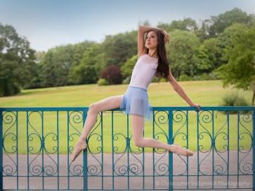 Ballerina model pose - Tala Lee-Turton