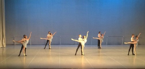 Tala Lee-Turton Bolshoi Ballet Academy - Final year duet exam 2016