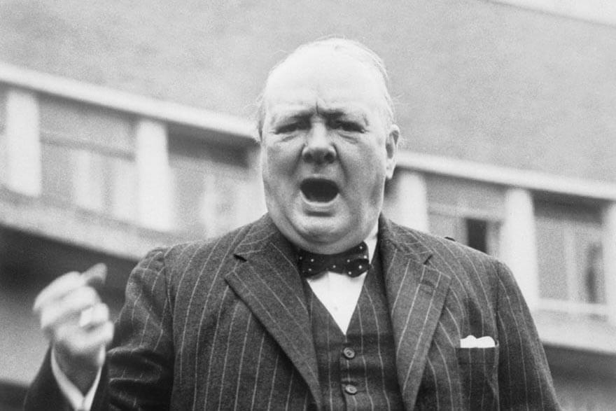 Till sidan Winston Churchill