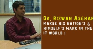 Dr. Rizwan Asghar makes his nation's & himself's mark in the IT world