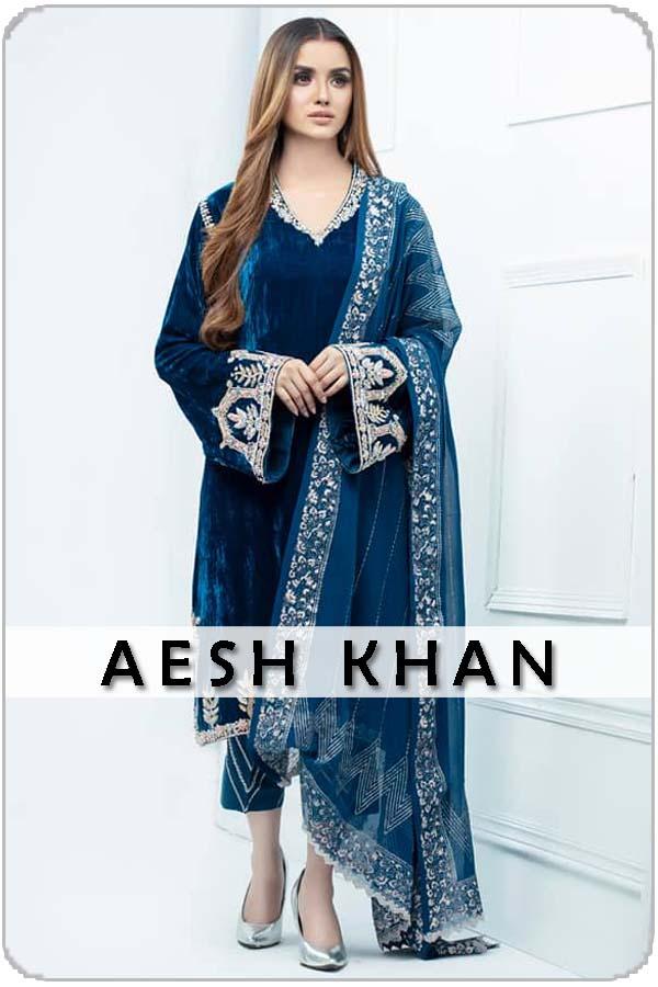 Pakistan Female Model Aesh Khan