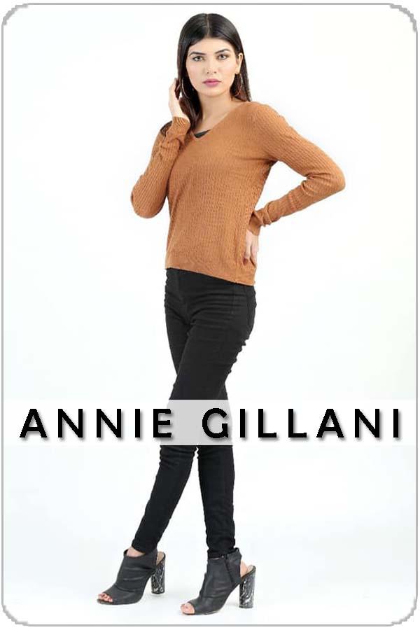 Pakistan Female Model Annie Gillani