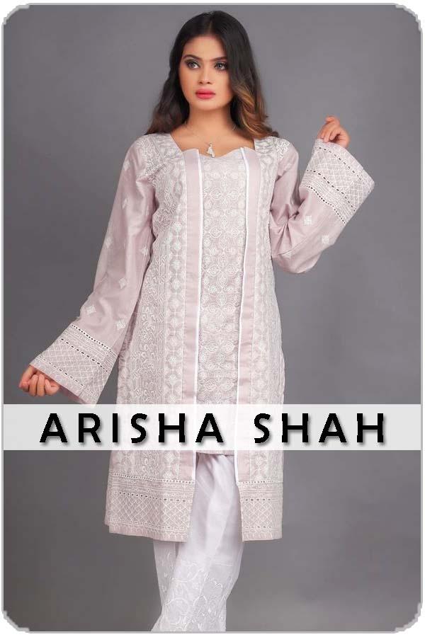 Pakistan Female Model Arisha shah