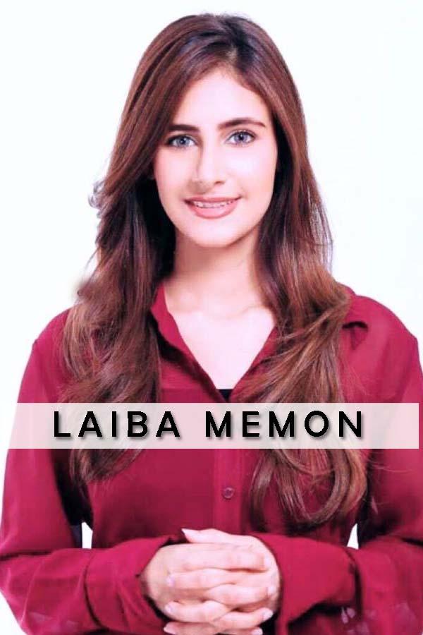 Pakistan Female Model Laiba Memon