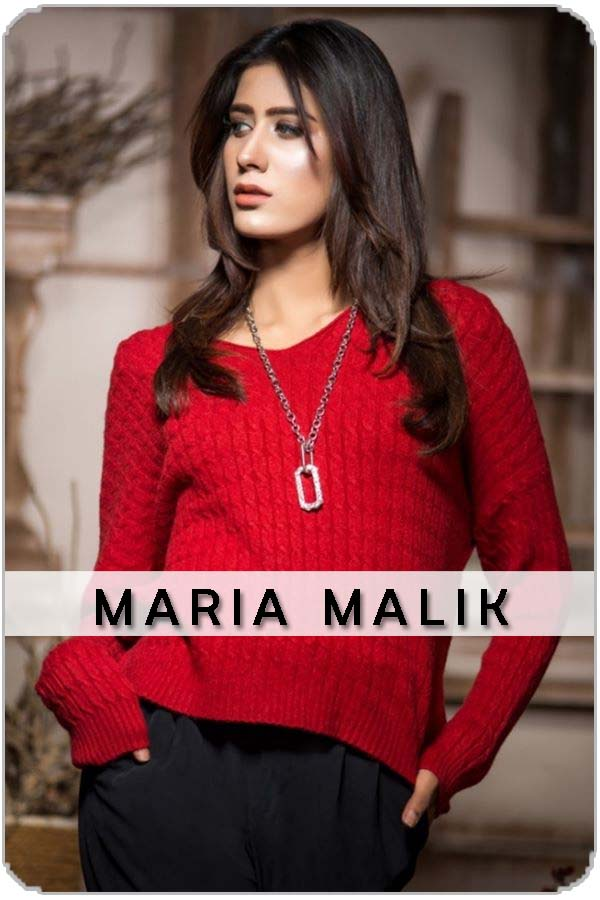 Pakistan Female Model Maria Malik