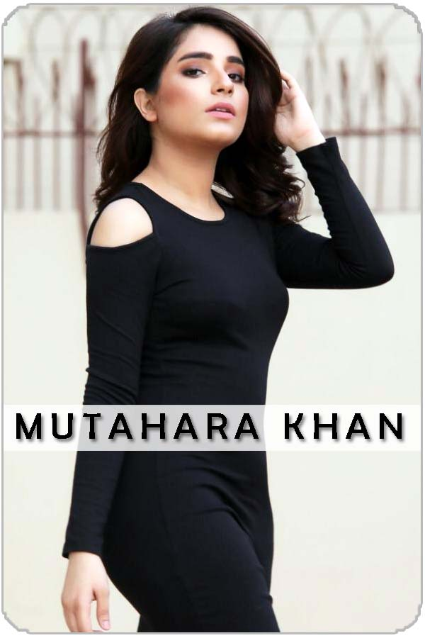 Pakistan Female Model Muthara Khan