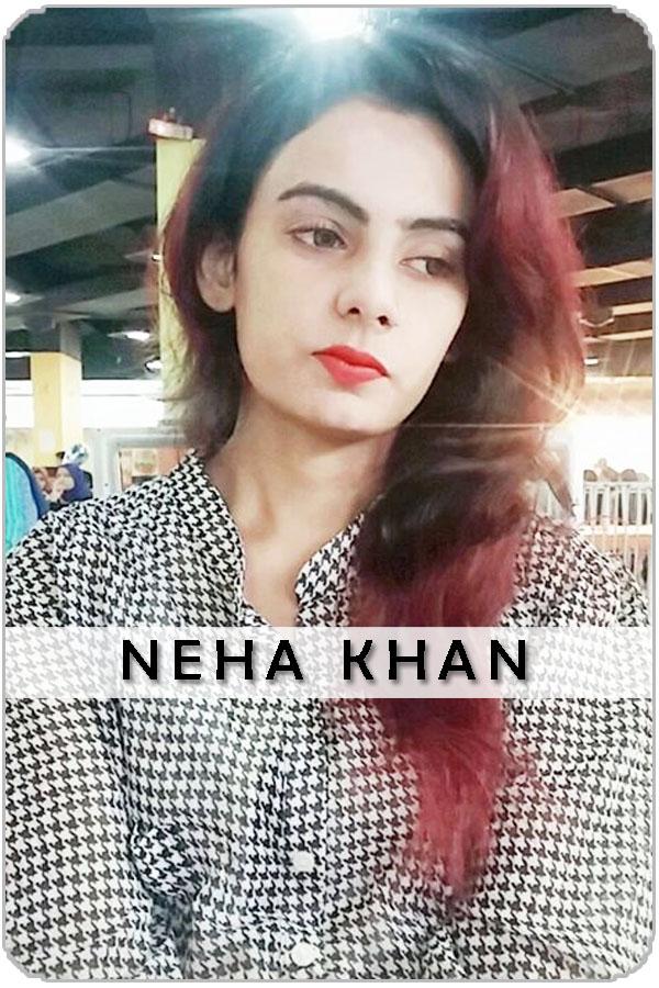 Pakistan Female Model Neha Khan