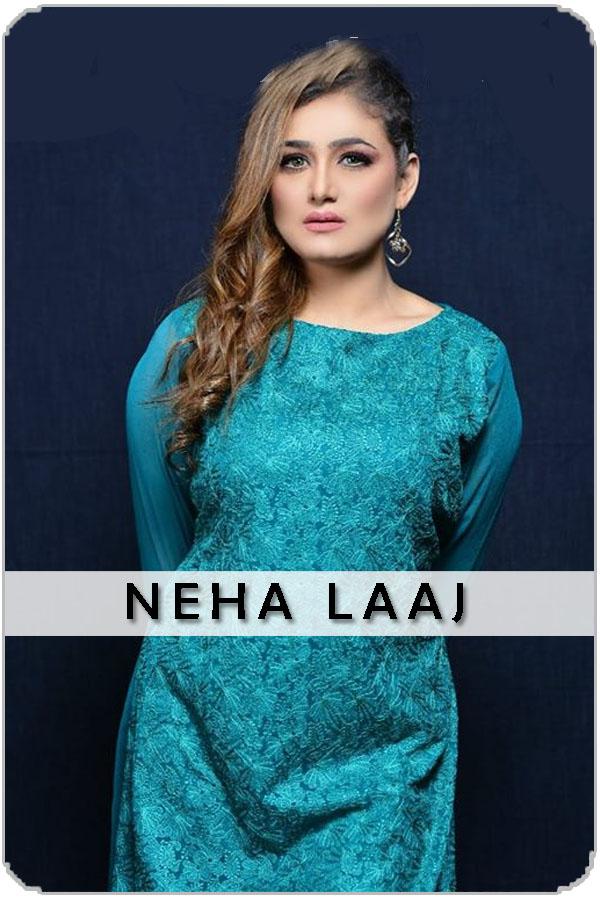 Pakistan Female Model Neha Laaj