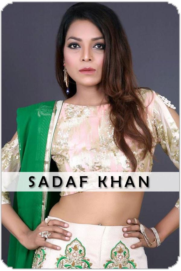 Pakistan Female Model Sadaf Khan