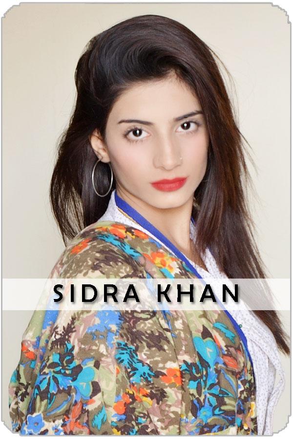 Pakistan Female Model Sidra Khan