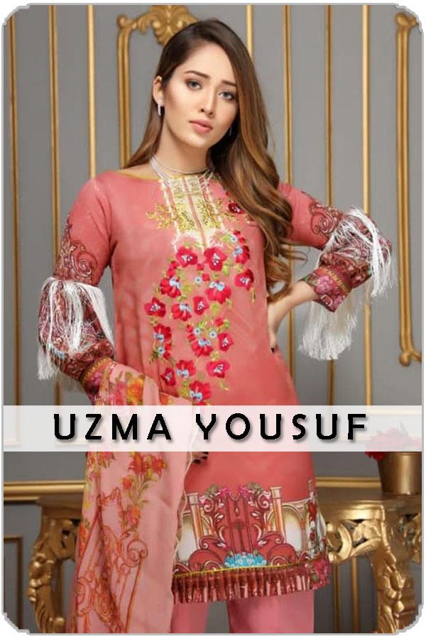 Pakistan Female Model Uzma Yousuf
