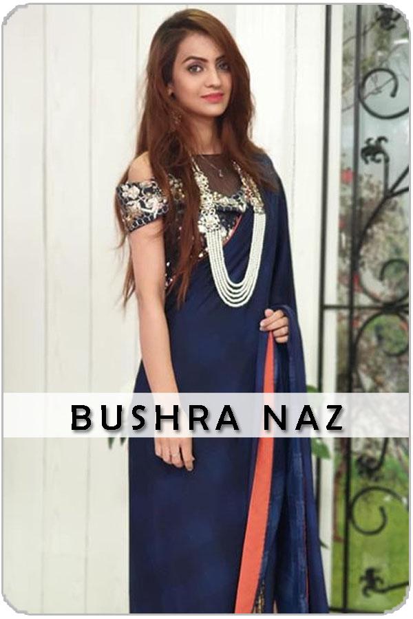 Pakistan Female Model bushra naz