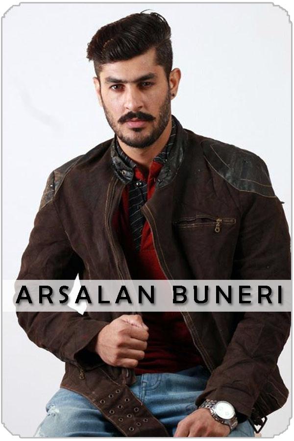 Pakistan Male Model Arsalan Buneri