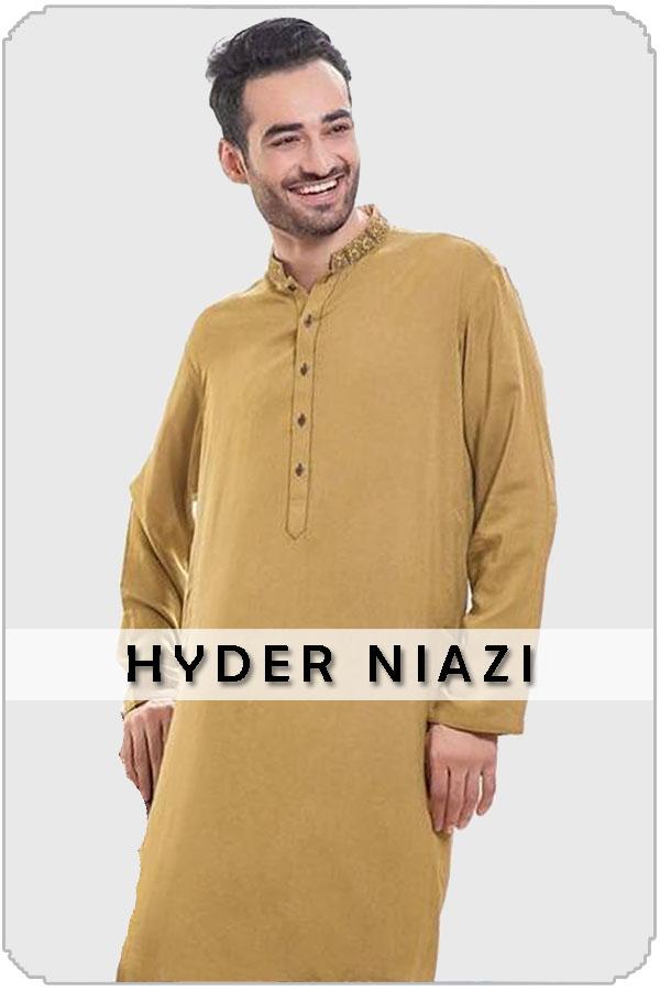 Pakistan Male Model Hyder Niazi