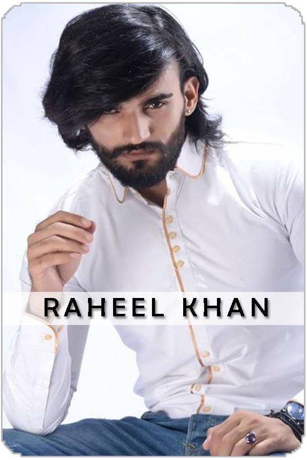 Pakistan Male Model Raheel khan