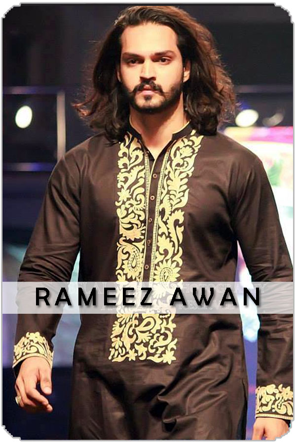 Pakistan Male Model Rameez Awan