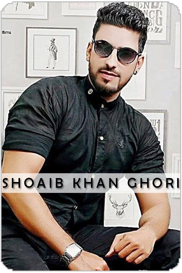 Pakistan Male Model Shoaib Khan Ghori