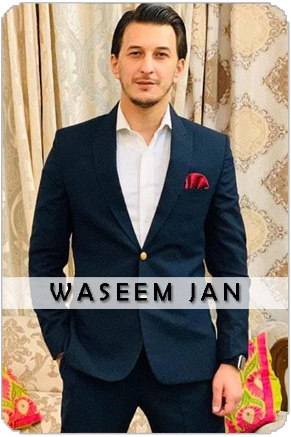 Pakistan Male Model Waseem Jan