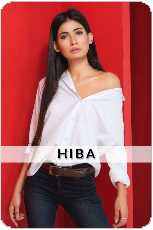 Pakistan top Female Model Hiba