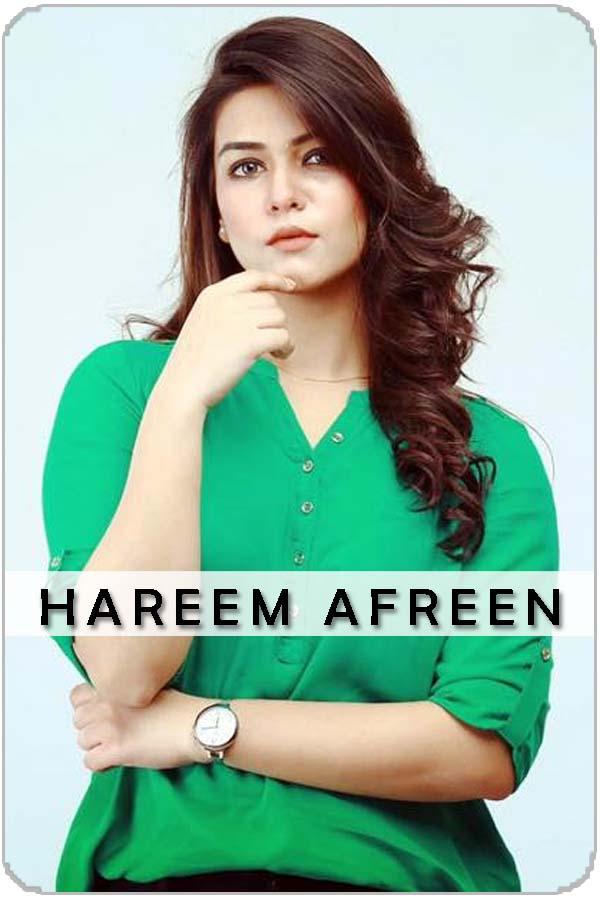 Pakistani Female Actress Hareem Afreen
