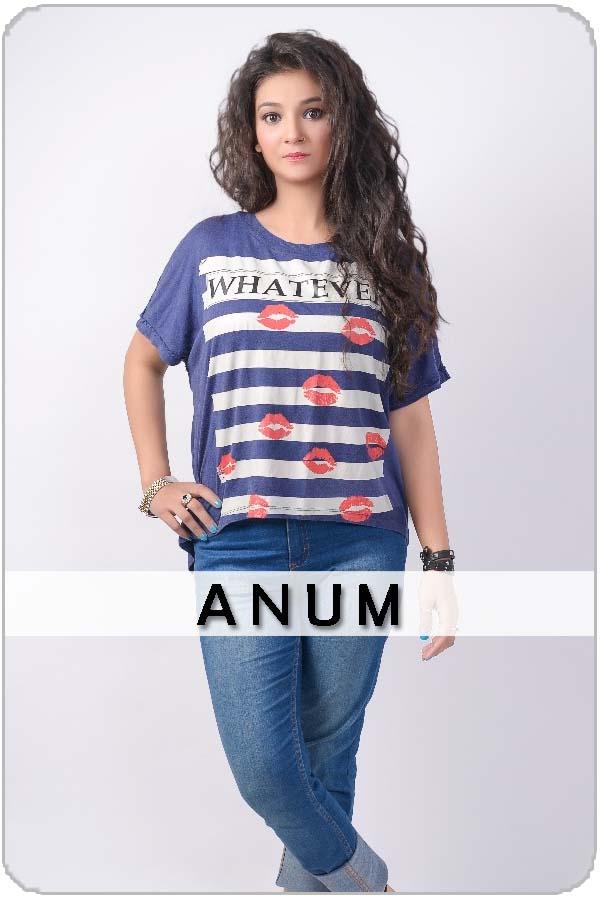 Pakistani Female Model Anum