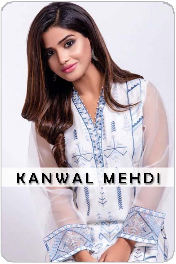 Pakistani Female Model Kawal Mehdi