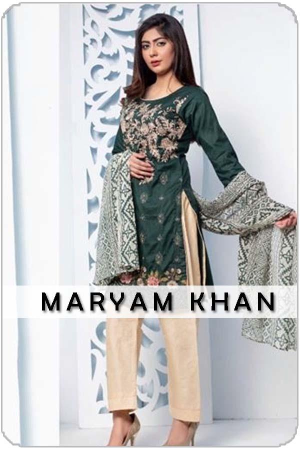 Pakistani Female Model Maryam Khan