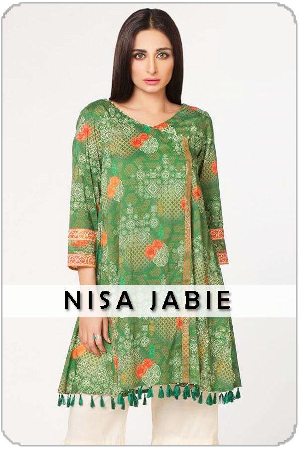 Pakistani Female Model Nisa Jabie