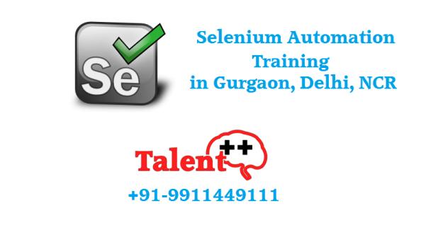 Selenium Training in Gurgaon - Free Java Lesson Included