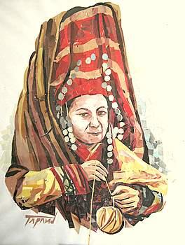 Afghan woman - Rachel Schaus