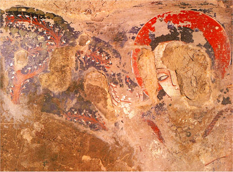 earliest paintings in Afghanistan