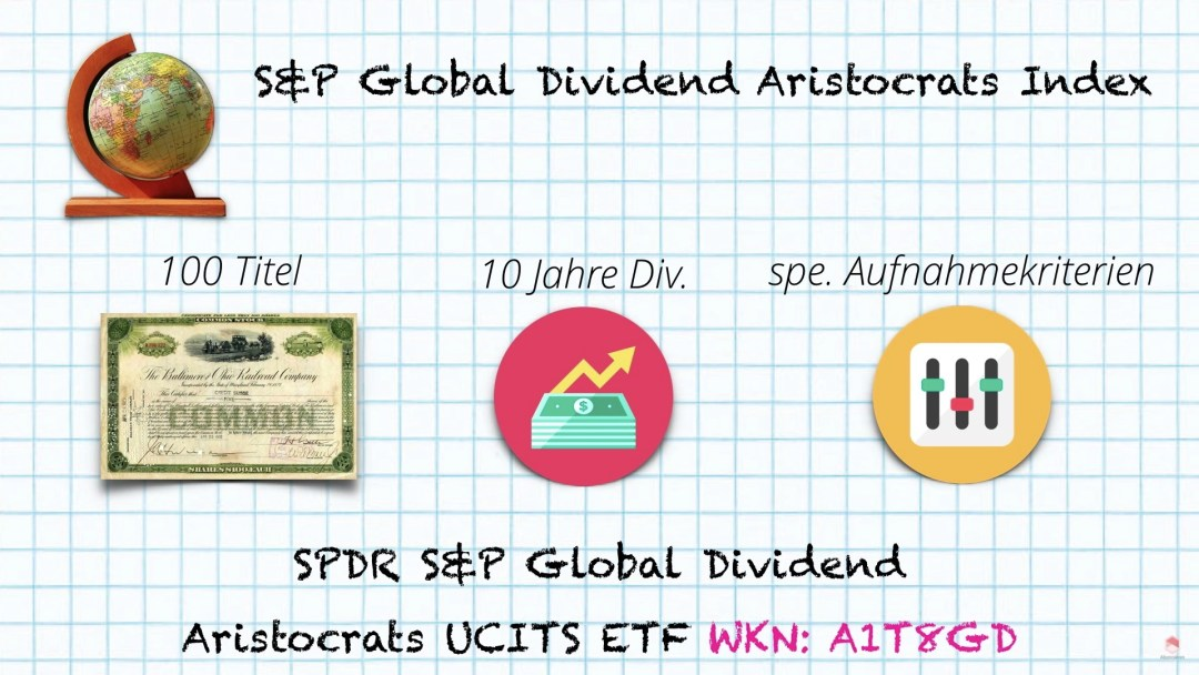 S&P Global dividends aristocrats index