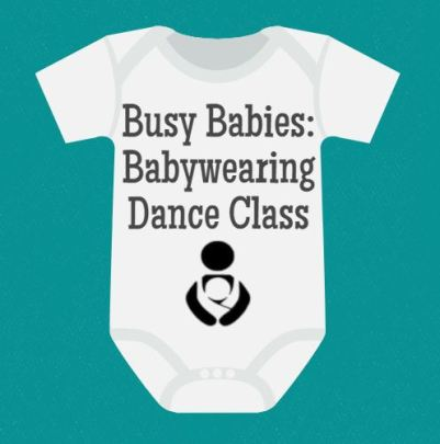 Busy Babies at the Library - Babywearing Dance Class - talesforthetiny.com