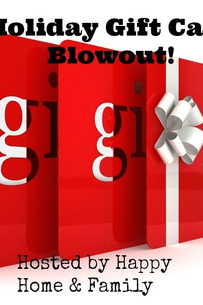 $200 Holiday Gift Card Giveaway! Ends 11/15