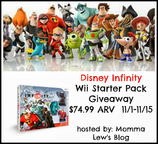 Disney Infinity Wii Starter Pack Giveaway! Ends 11/15