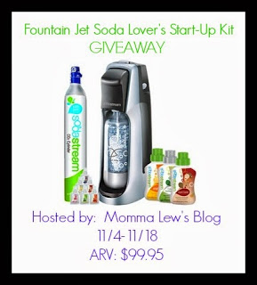 Fountain Jet Soda Lover's Start-Up Kit Giveaway! Ends 11/18