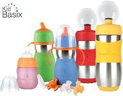 KidBasix Safe Starter Bottle & Safe Sippy 2 {Review}