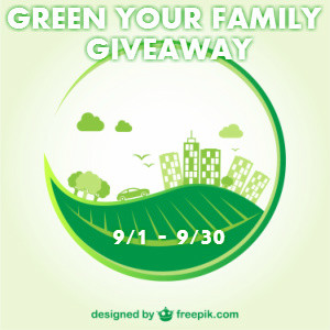 Blogger OPP Green Your Family
