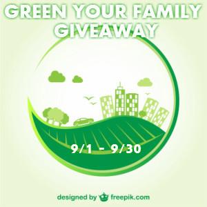 Blogger OPP Green Your Family